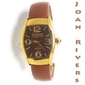 Joan Rivers Classics Women's Watch Bangle, Brown